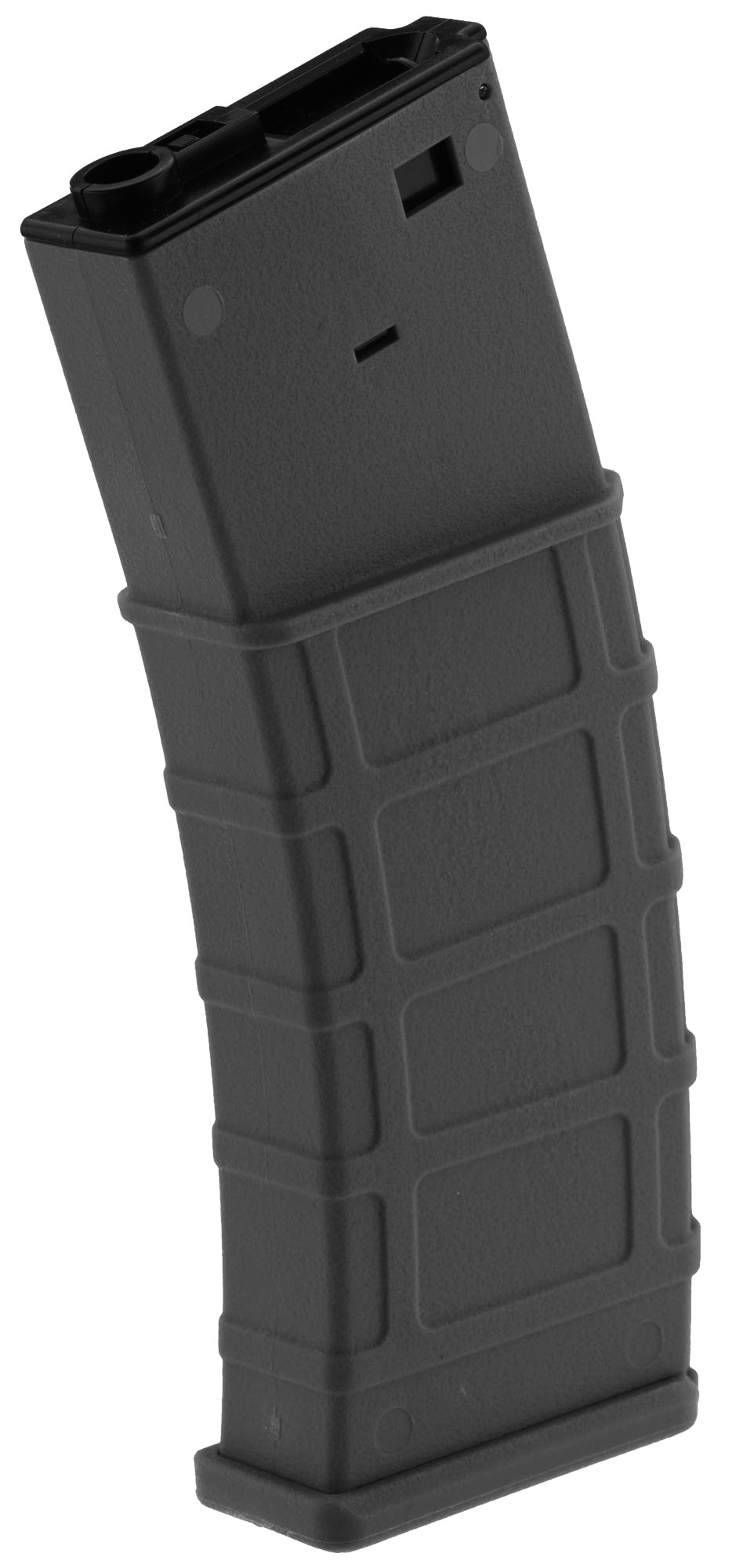 Photo Airsoft Magazine Polymer Flash Hi Cap 360 rds for M4-M16 (made by Lonex) - Black