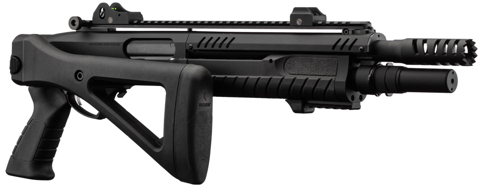 FABARM Shotgun STF 12 11 COMPACT GAS 3 OR 6 SHOTS BLACK 1J