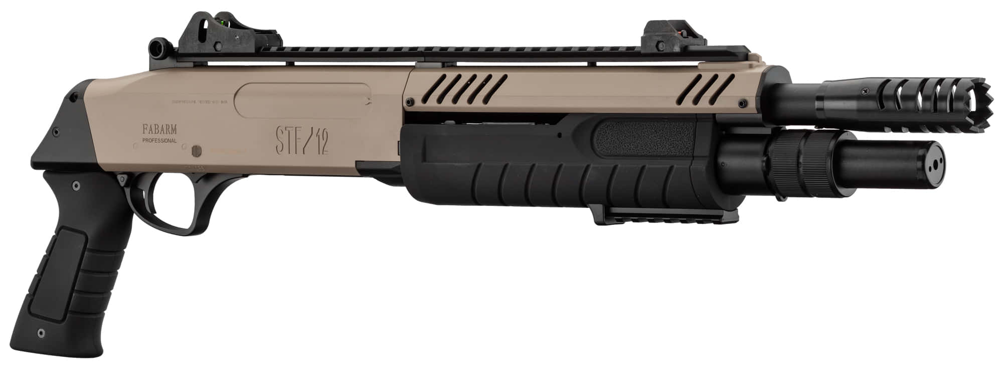 Photo FABARM STF/12-11 SHORT spring 3 shots fde 0,8j - BO MANUFACTURE