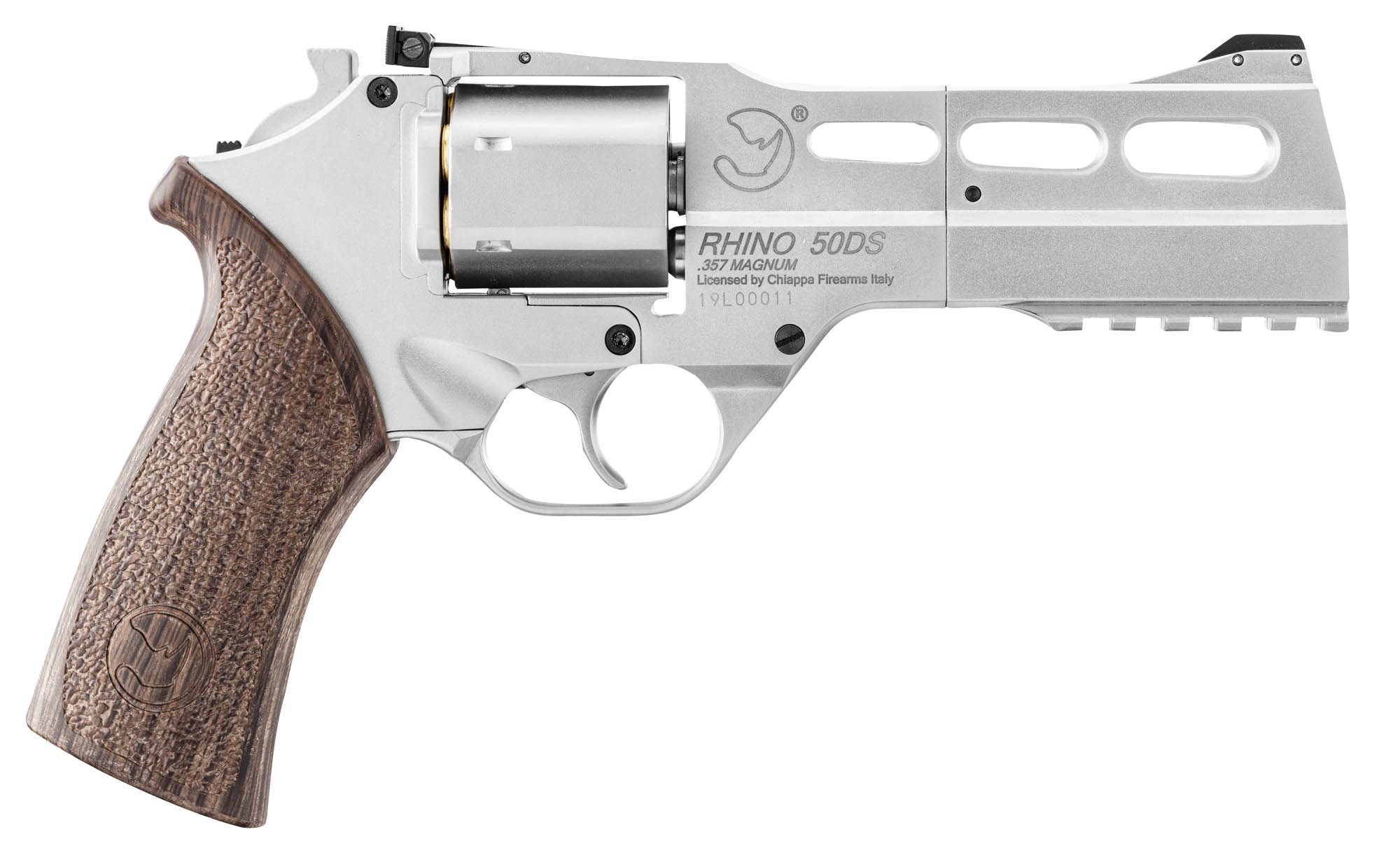 Photo REVOLVER RHINO 50 DS 4.5MM CAL. 177 CO2 3,5J Nickel