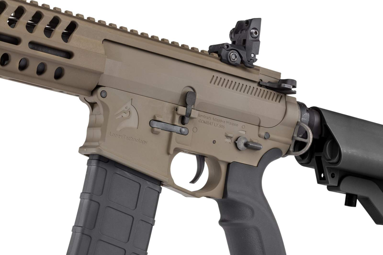 Photo BO Combat LT595 Carbine fde AEG - BO DYNAMICS™