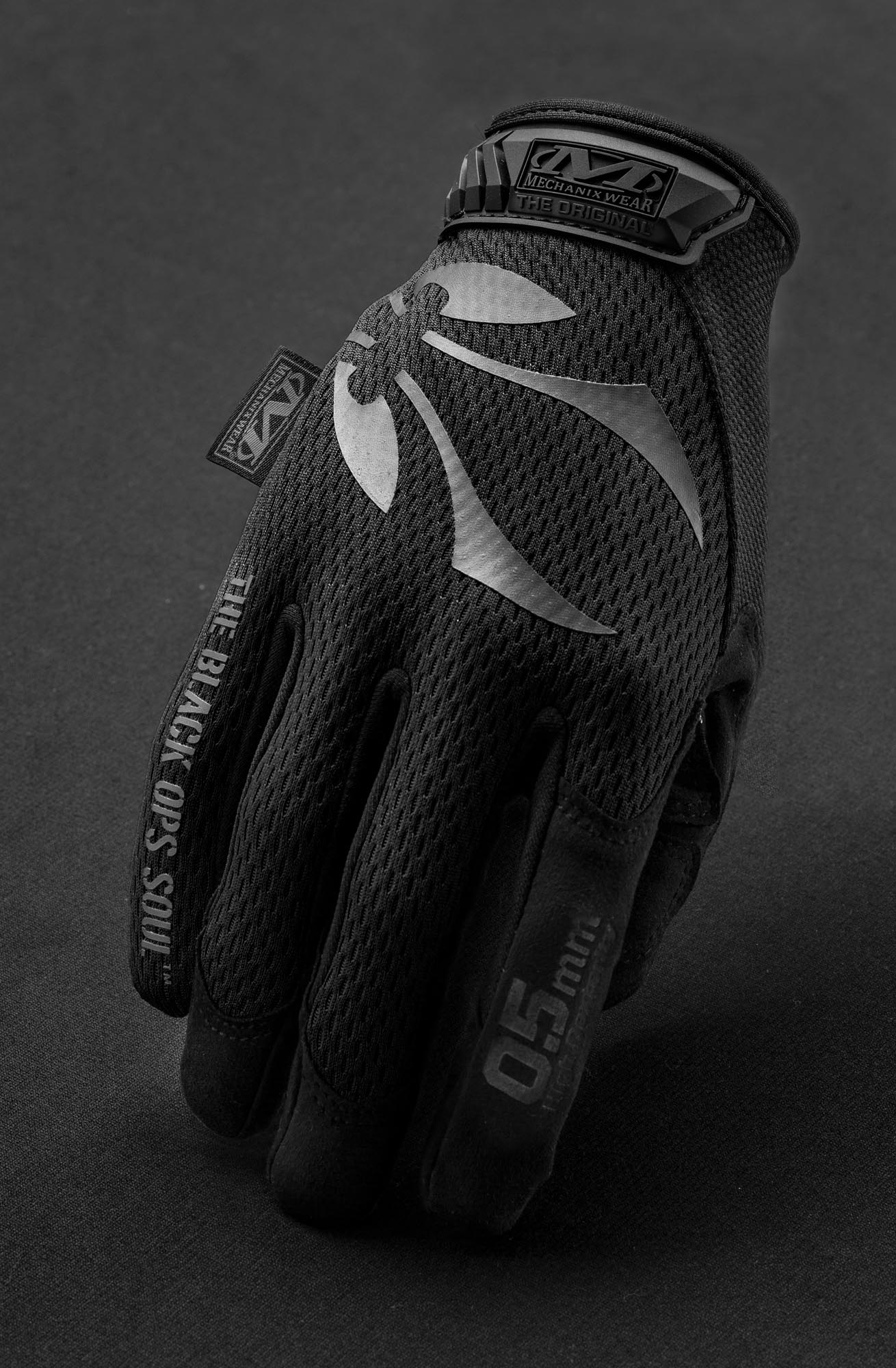 Photo Gants - MTO TOUCH Mechanix - Noir (L)
