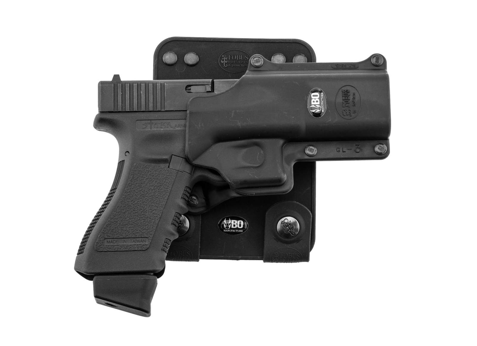 Photo BO MOLLE ATTACHMENT FOR ROTO HOLSTER - BLACK