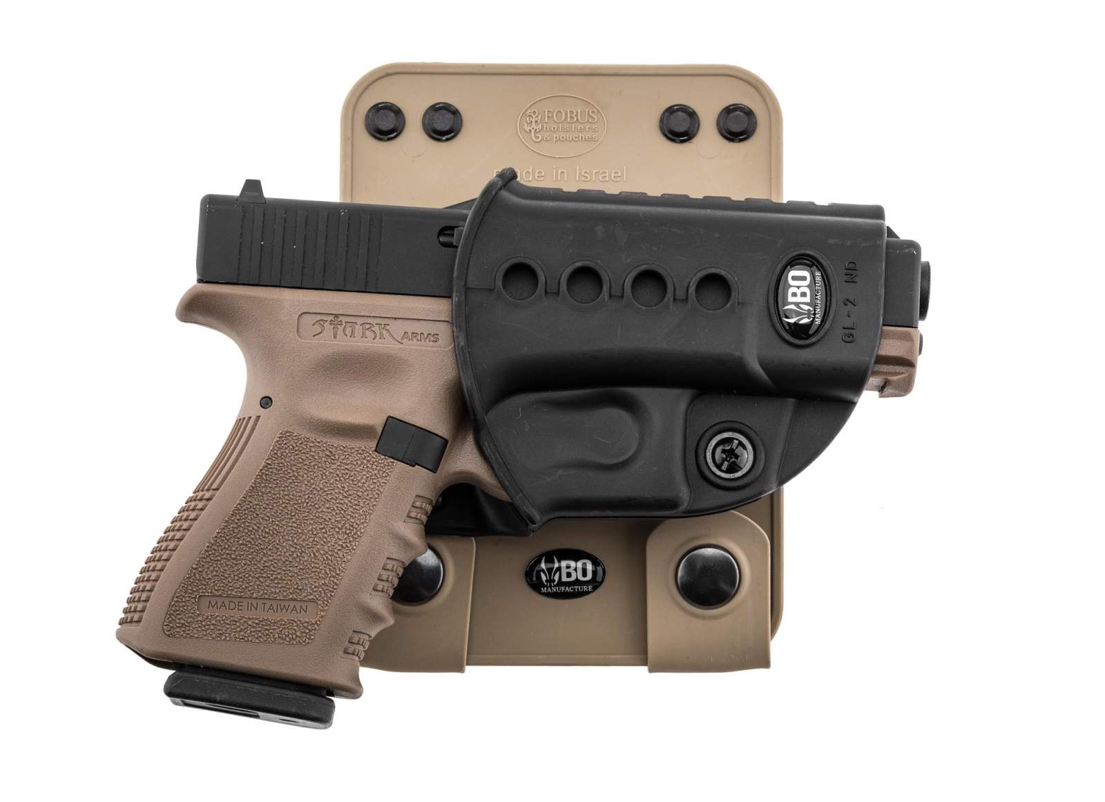 Photo BO MOLLE ATTACHMENT FOR ROTO HOLSTER - TAN