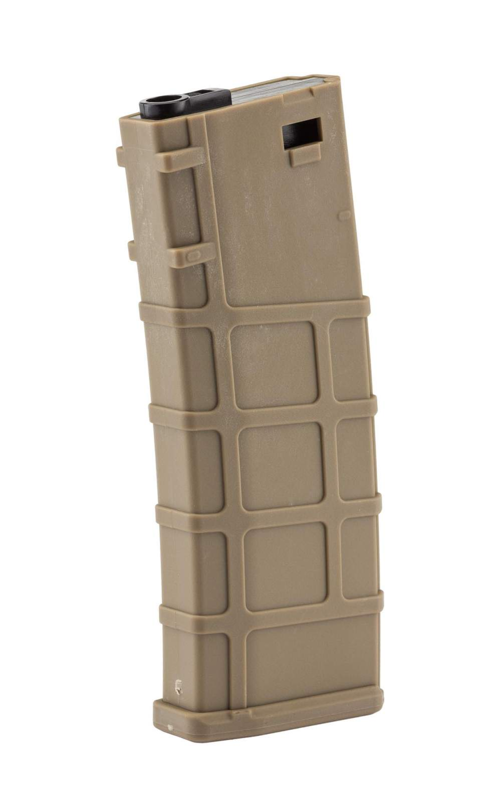 Photo Airsoft Magazine Real Cap 30 rds for M4 AEG Polymer Tan - Pack of 6 pcs